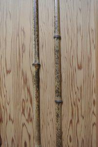 千代田ヴィレッジ押入れの竹でできた扉