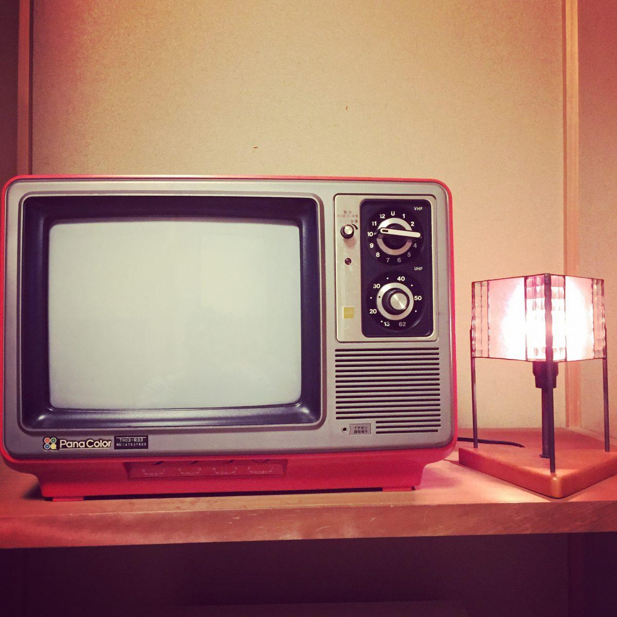 昭和レトロなテレビ