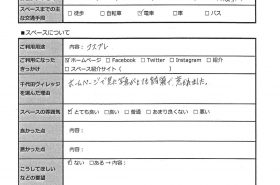 名古屋レンタルスペース千代田ヴィレッジクチコミ